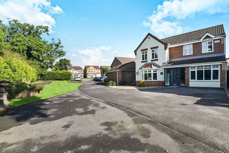 4 Bedrooms Detached House for sale in Buntingbank Close, South Normanton, Alfreton, DE55