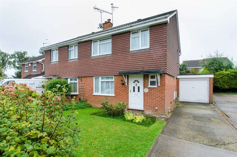 3 Bedrooms Semi Detached House for sale in Cardine Close, Sittingbourne