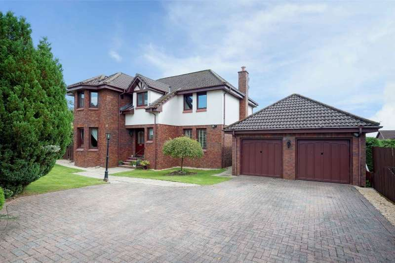4 Bedrooms Detached Villa House for sale in Gleneagles Avenue, Westerwood, Glasgow, G68 0EY
