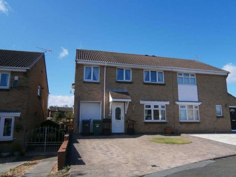 4 Bedrooms Semi Detached House for sale in Escallond Drive, Dalton-le-dale, Seaham, SR7