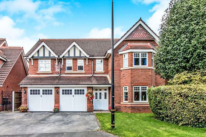 4 Bedrooms Detached House for sale in Watermead, Sale, M33