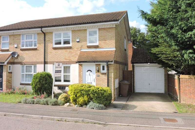3 Bedrooms Semi Detached House for sale in Rochford Drive, Luton, Bedfordshire, LU2 8SS