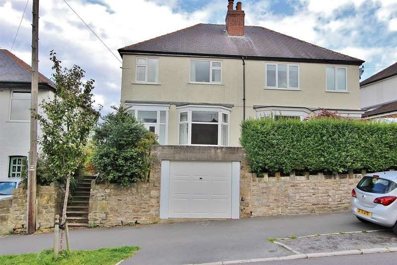 3 Bedrooms Semi Detached House for sale in High Storrs Road, Sheffield, S11 7LD