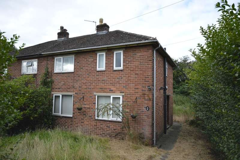 3 Bedrooms Semi Detached House for sale in Penybryn Avenue, Whittington, Oswestry, SY11