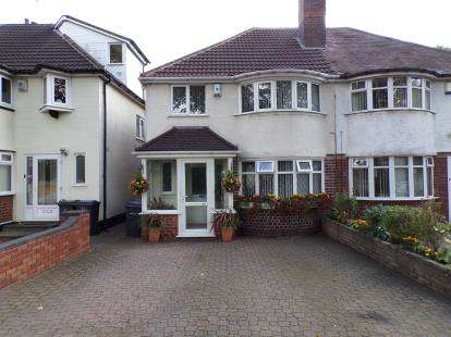 3 Bedrooms Semi Detached House for sale in Garretts Green Lane, Birmingham