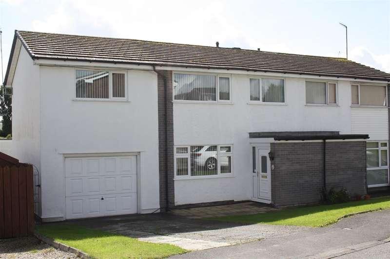 4 Bedrooms Semi Detached House for sale in Ffordd Rhiannon, Llanfairpwll