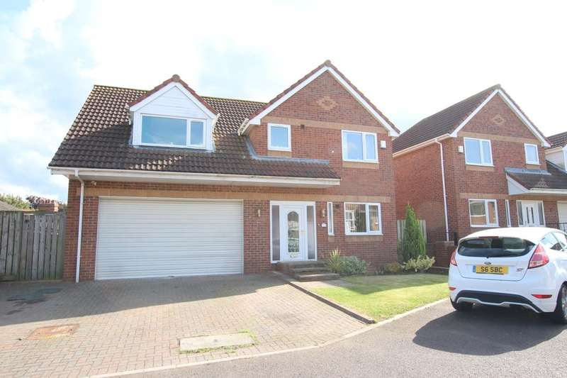 5 Bedrooms Detached House for sale in Burnwood Close, Chopwell, Newcastle Upon Tyne, NE17