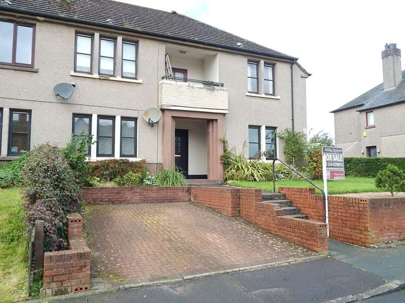 2 Bedrooms Ground Flat for sale in 12 Grahamshill Terrace, Fankerton, Denny, FK6 5HX