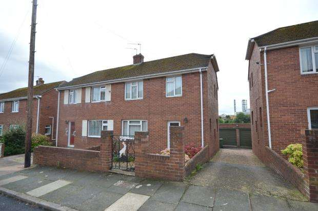 2 Bedrooms Semi Detached House for sale in Kingsway, Heavitree, Exeter, Devon