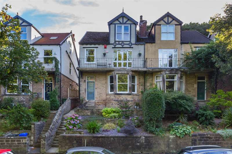 5 Bedrooms Semi Detached House for sale in Rustlings Road, Endcliffe Park, Sheffield, S11