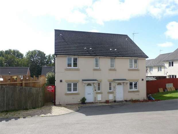 3 Bedrooms Semi Detached House for sale in Angel Way, North Cornelly, Bridgend, Mid Glamorgan