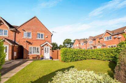 3 Bedrooms End Of Terrace House for sale in Greenhaven Close, Worsley, Manchester, Greater Manchester
