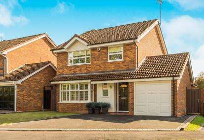 4 Bedrooms Detached House for sale in Cardinal Drive, Kidderminster
