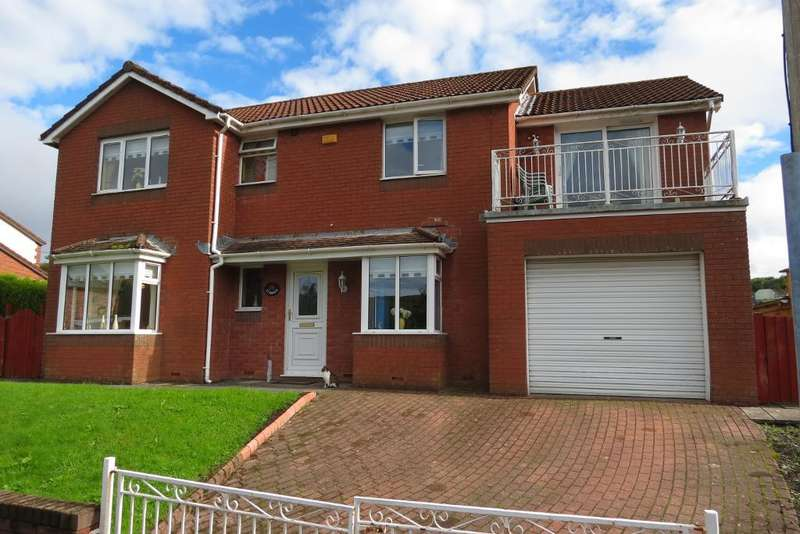 4 Bedrooms Detached House for sale in Coronation Terrace, Rhymney, Tedegar, Blaenau Gwent, NP22 5EX