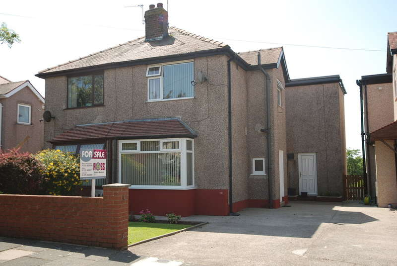 3 Bedrooms Semi Detached House for sale in Sheeplands Grove, Barrow-in-Furness, Cumbria, LA13 0AS
