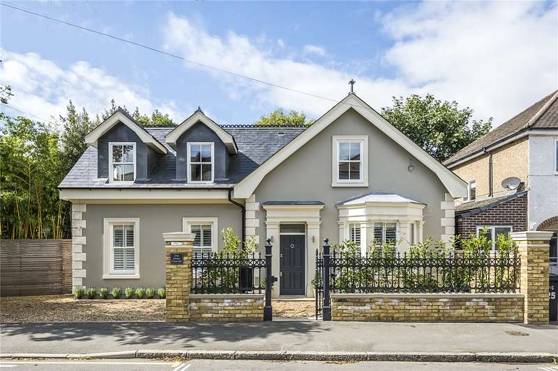 4 Bedrooms Detached House for sale in Grove Crescent, Kingston upon Thames, KT1