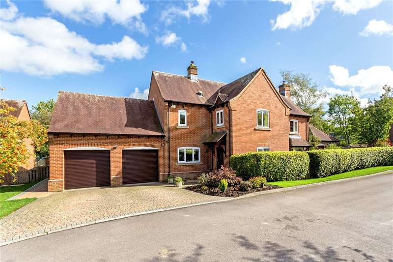 4 Bedrooms Detached House for sale in St. Katherines, Winterbourne Bassett, Swindon, Wiltshire, SN4
