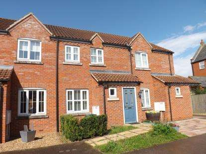 2 Bedrooms Terraced House for sale in Swallow Crest, Sandy, Bedfordshire