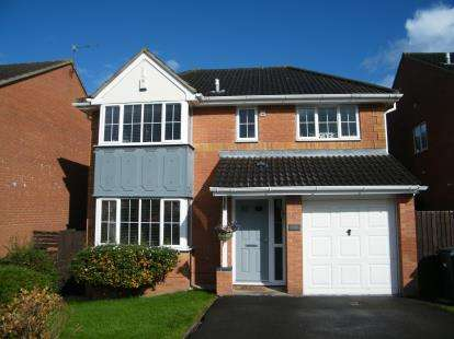 4 Bedrooms Detached House for sale in Bakers Ground, Stoke Gifford, Bristol