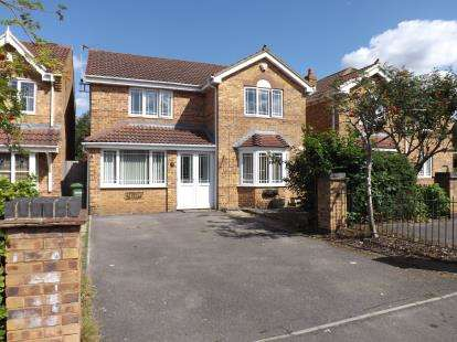 4 Bedrooms Detached House for sale in Guest Avenue, Emersons Green, Bristol, Gloucestershire