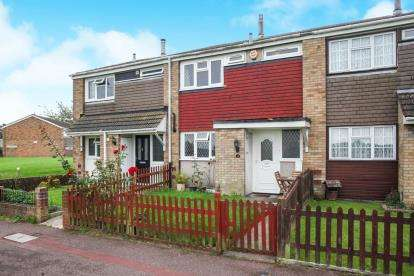 3 Bedrooms Terraced House for sale in Thrales Close, Luton, Bedfordshire