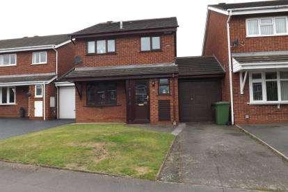 3 Bedrooms Link Detached House for sale in Delamere Close, Castle Bromwich, Birmingham, West Midlands