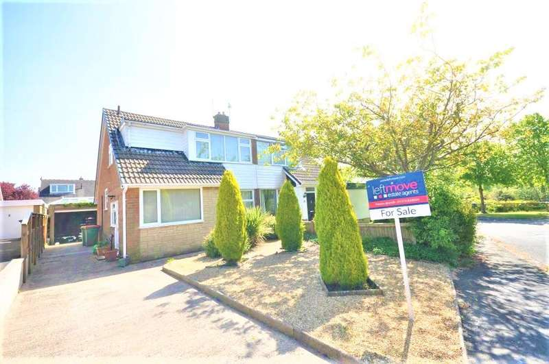 3 Bedrooms Semi Detached House for sale in Parkthorn Road, Lea, Preston, Lancashire, PR2 1RB