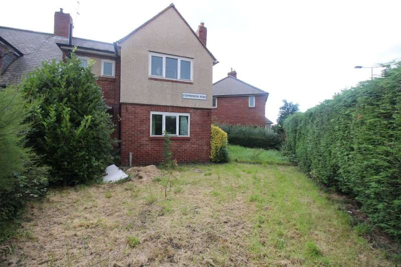 3 Bedrooms Semi Detached House for sale in Stephenson Road, High Heaton, Newcastle Upon Tyne, NE7