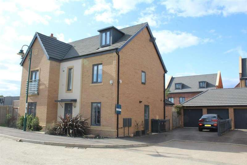 5 Bedrooms Detached House for sale in Coriander Drive, Hampton Vale, Peterborough