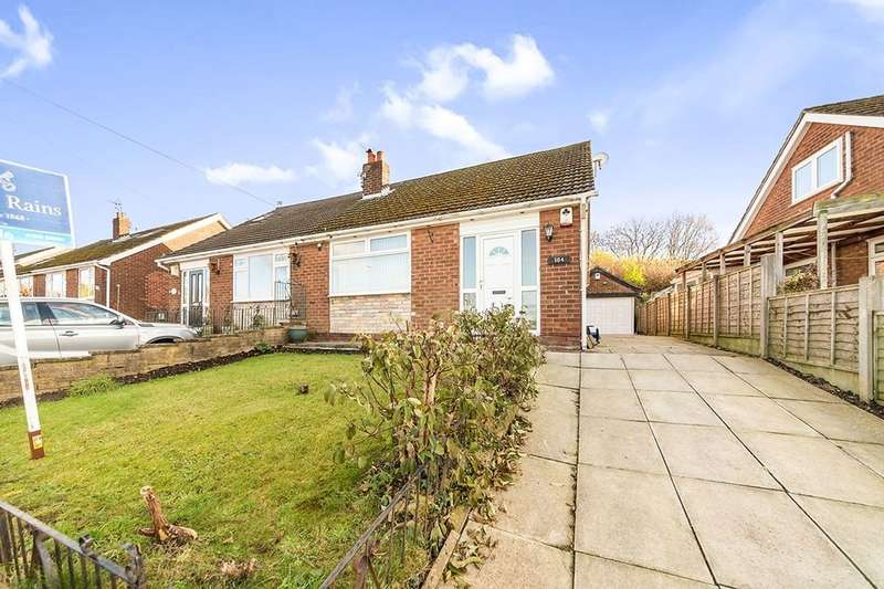2 Bedrooms Semi Detached Bungalow for sale in Foxholes Road, Hyde, SK14