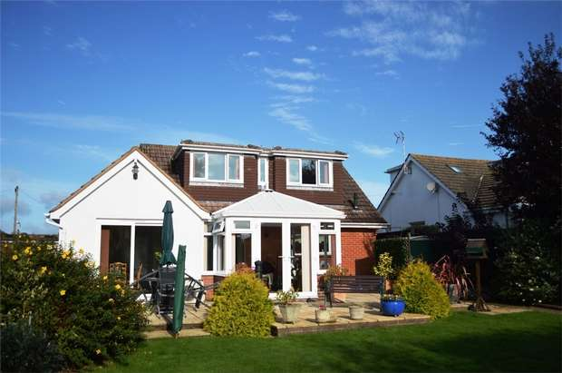 4 Bedrooms Detached House for sale in 134 Hulham Road, EXMOUTH, Devon