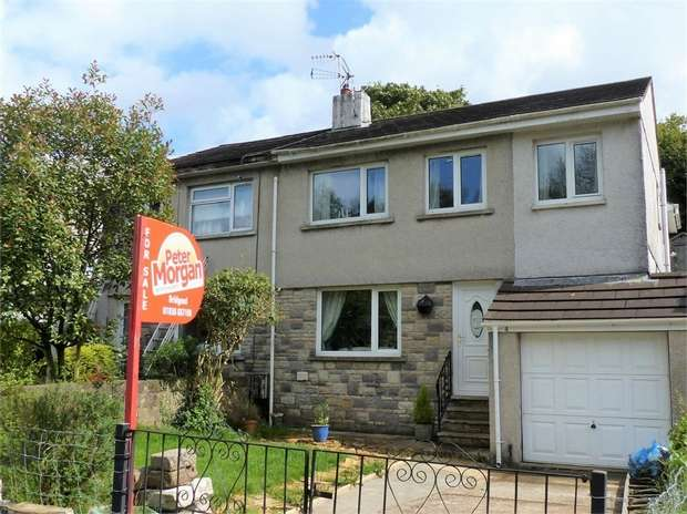 4 Bedrooms Semi Detached House for sale in Llangeinor Road, Brynmenyn, Bridgend, Mid Glamorgan