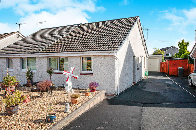 2 Bedrooms Semi Detached Bungalow for sale in Kirkland Court, Dumfries, DG1