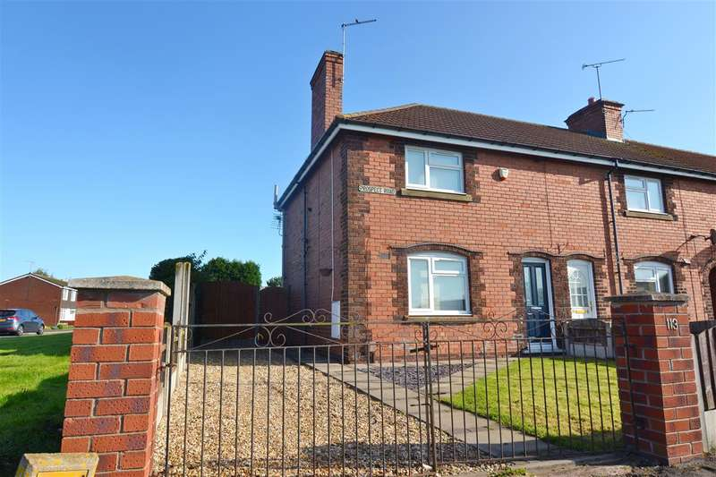 2 Bedrooms End Of Terrace House for sale in Prospect Road, Stafford