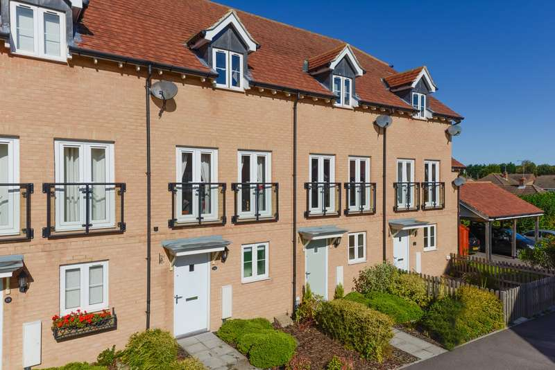 3 Bedrooms Town House for sale in Greystones, Willesborough, Ashford, TN24