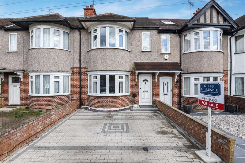 3 Bedrooms Terraced House for sale in Ashburton Road, Ruislip, Middlesex, HA4