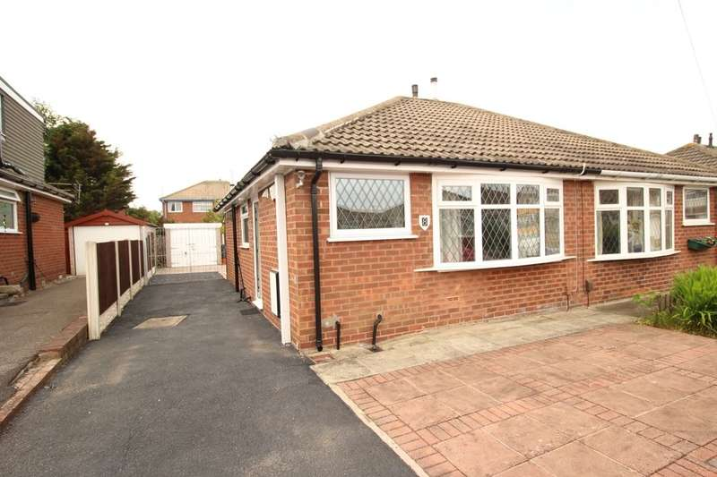 2 Bedrooms Semi Detached Bungalow for sale in West Side, Blackpool, FY4