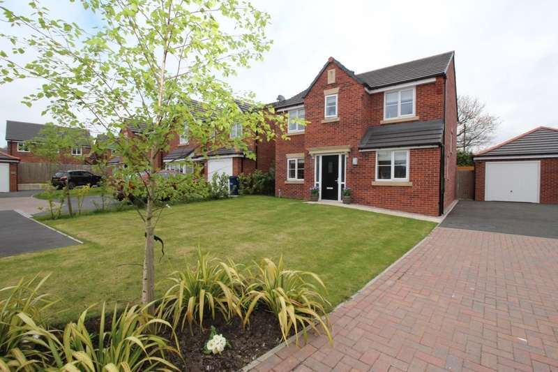 4 Bedrooms Detached House for sale in Grove Farm Drive, Adlington, Chorley, PR6