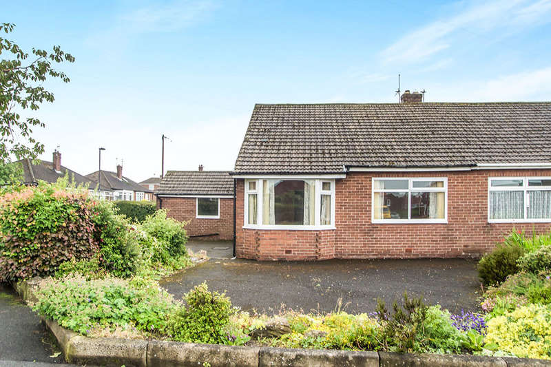 2 Bedrooms Semi Detached Bungalow for sale in Downend Road, Hillheads Estate, Newcastle Upon Tyne, NE5