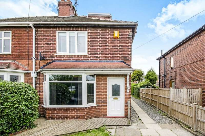 2 Bedrooms Semi Detached House for sale in Barnsdale Road, Allerton Bywater, Castleford, WF10
