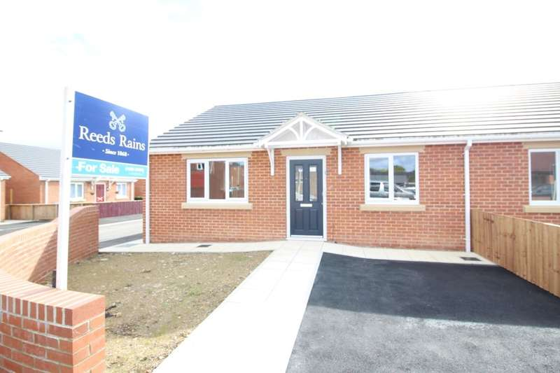 2 Bedrooms Semi Detached Bungalow for sale in Milford Meadow, South Church, Bishop Auckland, DL14