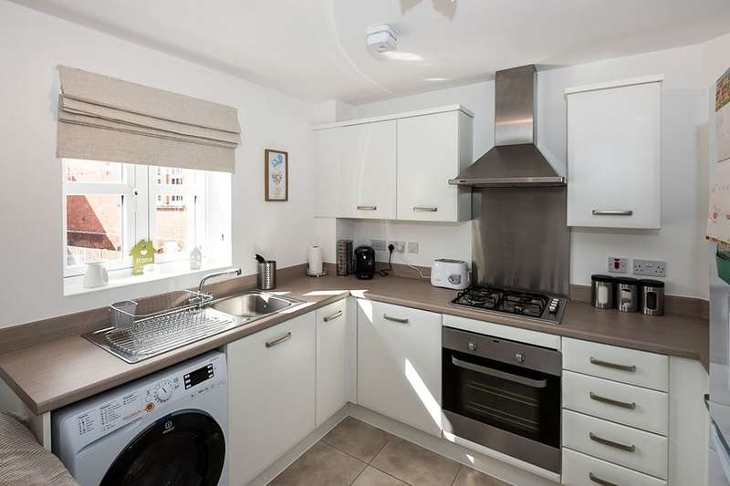 2 Bedrooms Flat for sale in Vicarage Walk, Clowne, Chesterfield, S43