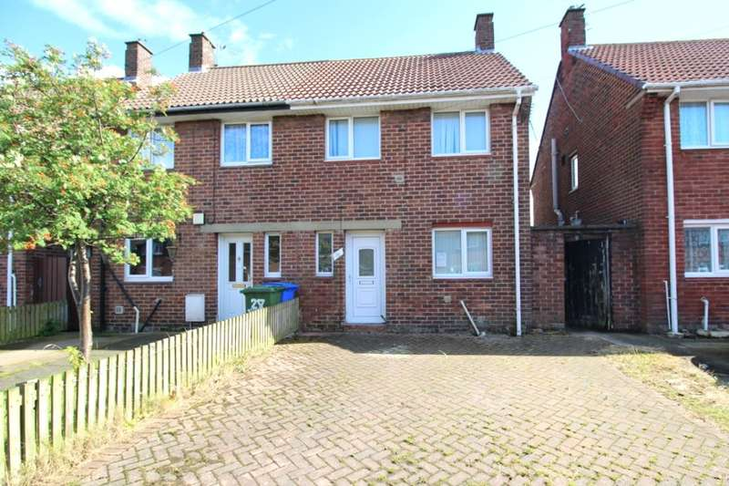 2 Bedrooms Semi Detached House for sale in Hallside Road, Blyth, NE24