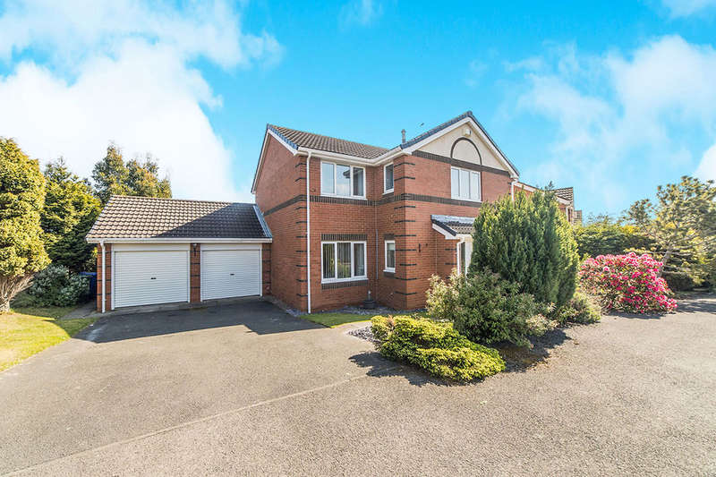 4 Bedrooms Detached House for sale in Cheadle Avenue, CRAMLINGTON, NE23