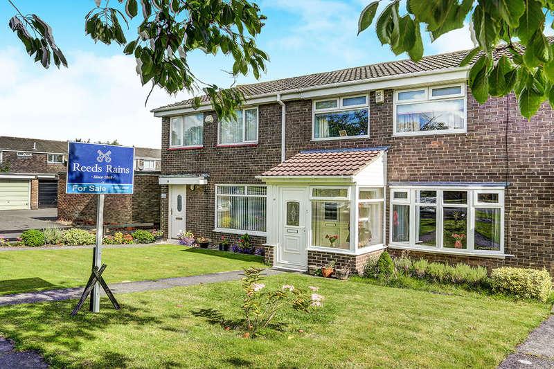 3 Bedrooms Terraced House for sale in Westloch Road, Cramlington, NE23