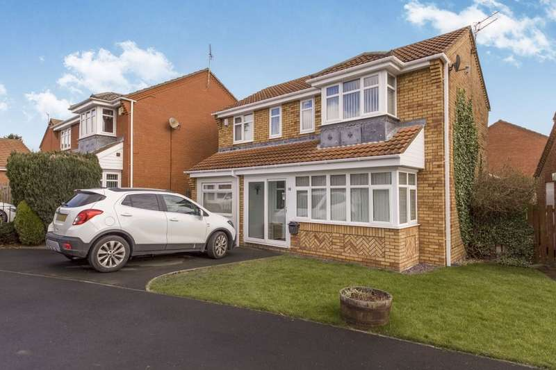 3 Bedrooms Detached House for sale in Southfields, Dudley, Cramlington, NE23