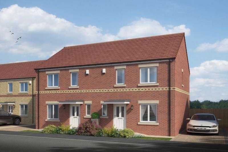 3 Bedrooms Semi Detached House for sale in The Langley South Church Road, Bishop Auckland, DL14