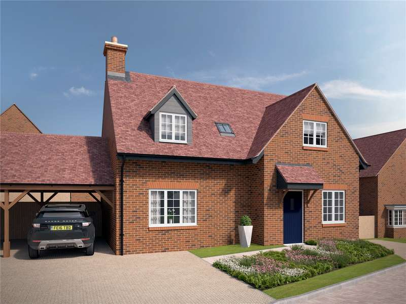 4 Bedrooms Semi Detached House for sale in The Wallingford, Saint's Hill, Saunderton, High Wycombe, Buckinghamshire, HP14