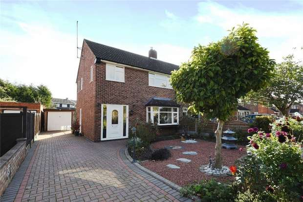 3 Bedrooms Semi Detached House for sale in Foxlease, Bedford