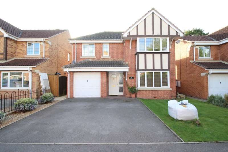 4 Bedrooms Detached House for sale in Aire View, Snaith, Goole, DN14